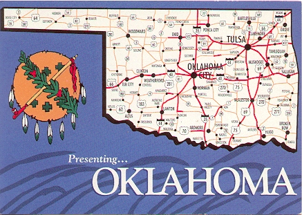 County Map Project Oklahoma